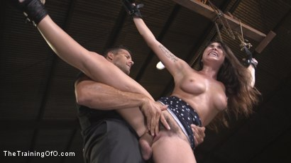 Photo number 9 from Karlee Grey, Begging in Bondage shot for The Training Of O on Kink.com. Featuring Karlee Grey and Ramon Nomar in hardcore BDSM & Fetish porn.