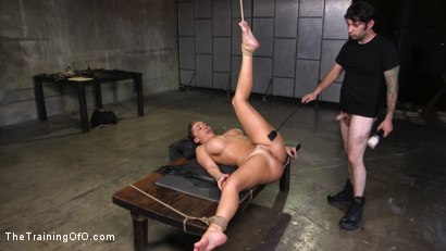 Photo number 13 from Big Ass-ed MILF Richelle Ryan Trained and Fucked in Rope Bondage!! shot for The Training Of O on Kink.com. Featuring Tommy Pistol and Richelle Ryan in hardcore BDSM & Fetish porn.