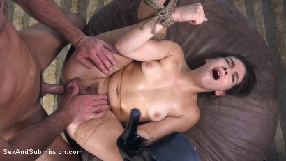 Photo number 12 from Anal Extortion shot for Sex And Submission on Kink.com. Featuring Charles Dera and Kimber Woods in hardcore BDSM & Fetish porn.