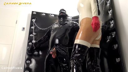 Photo number 1 from Rubber Special: Chapter One shot for Carmen Rivera on Kink.com. Featuring Carmen Rivera and Gummi-Objekt in hardcore BDSM & Fetish porn.