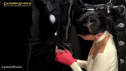 Photo number 12 from Rubber Special: Chapter One shot for Carmen Rivera on Kink.com. Featuring Carmen Rivera and Gummi-Objekt in hardcore BDSM & Fetish porn.