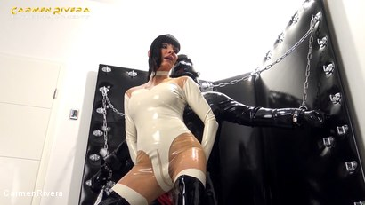Photo number 13 from Rubber Special: Chapter One shot for Carmen Rivera on Kink.com. Featuring Carmen Rivera and Gummi-Objekt in hardcore BDSM & Fetish porn.