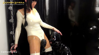 Photo number 16 from Rubber Special: Chapter One shot for Carmen Rivera on Kink.com. Featuring Carmen Rivera and Gummi-Objekt in hardcore BDSM & Fetish porn.
