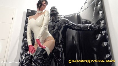 Photo number 8 from Rubber Special: Chapter One shot for Carmen Rivera on Kink.com. Featuring Carmen Rivera and Gummi-Objekt in hardcore BDSM & Fetish porn.