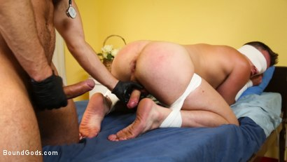Photo number 9 from Obsessive Anal Penetration Disorder shot for Bound Gods on Kink.com. Featuring Tristan Jaxx and Brian Bonds in hardcore BDSM & Fetish porn.