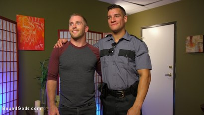 Photo number 23 from Officer Jordan Boss Takes Down Scott Riley And Fucks His Hungry Hole shot for Bound Gods on Kink.com. Featuring Jordan Boss and Scott Riley in hardcore BDSM & Fetish porn.