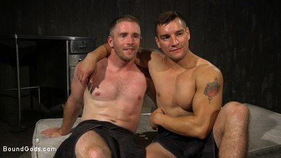 Photo number 24 from Officer Jordan Boss Takes Down Scott Riley And Fucks His Hungry Hole shot for Bound Gods on Kink.com. Featuring Jordan Boss and Scott Riley in hardcore BDSM & Fetish porn.