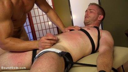 Photo number 4 from Officer Jordan Boss Takes Down Scott Riley And Fucks His Hungry Hole shot for Bound Gods on Kink.com. Featuring Jordan Boss and Scott Riley in hardcore BDSM & Fetish porn.