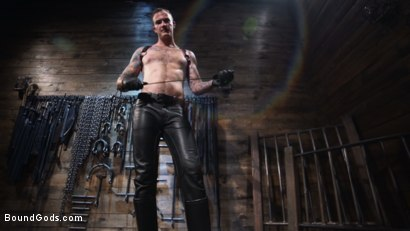 Photo number 1 from Captive God Pierce Paris: Bound in Rope Bondage and Fucked by Hot Stud shot for Bound Gods on Kink.com. Featuring Pierce Paris and Christian Wilde in hardcore BDSM & Fetish porn.