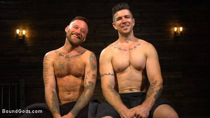 Photo number 20 from Pleasure and Pain for Trenton Ducati's New Submissive Slut shot for Bound Gods on Kink.com. Featuring Trenton Ducati and Hoytt Walker in hardcore BDSM & Fetish porn.