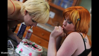 Photo number 1 from BDSM Birthday Gift shot for Wasteland on Kink.com. Featuring Mistress Irony and Ava Mir-Ausziehen in hardcore BDSM & Fetish porn.