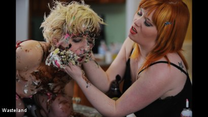 Photo number 12 from BDSM Birthday Gift shot for Wasteland on Kink.com. Featuring Mistress Irony and Ava Mir-Ausziehen in hardcore BDSM & Fetish porn.