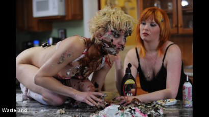 Photo number 9 from BDSM Birthday Gift shot for Wasteland on Kink.com. Featuring Mistress Irony and Ava Mir-Ausziehen in hardcore BDSM & Fetish porn.