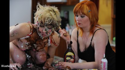 Photo number 10 from BDSM Birthday Gift shot for Wasteland on Kink.com. Featuring Mistress Irony and Ava Mir-Ausziehen in hardcore BDSM & Fetish porn.