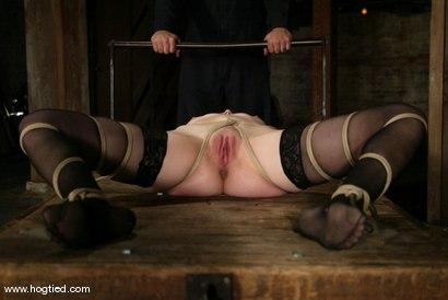 Photo number 7 from Bobbi Starr shot for Hogtied on Kink.com. Featuring Bobbi Starr in hardcore BDSM & Fetish porn.