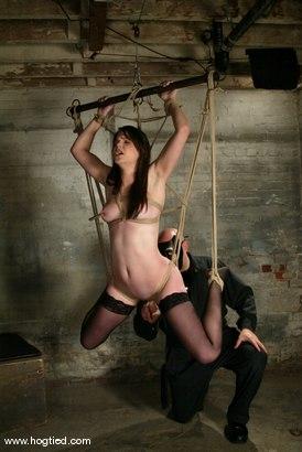 Photo number 2 from Bobbi Starr shot for Hogtied on Kink.com. Featuring Bobbi Starr in hardcore BDSM & Fetish porn.