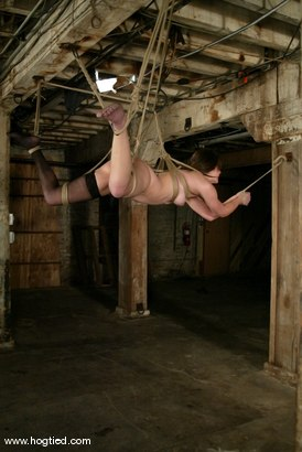 Photo number 10 from Bobbi Starr shot for Hogtied on Kink.com. Featuring Bobbi Starr in hardcore BDSM & Fetish porn.