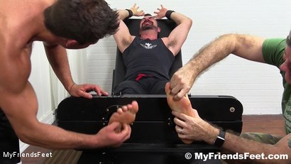 Photo number 1 from Dolan Wolf Jerked & Tickled shot for My Friends Feet on Kink.com. Featuring Dolan Wolf, Cole Money and Rich in hardcore BDSM & Fetish porn.