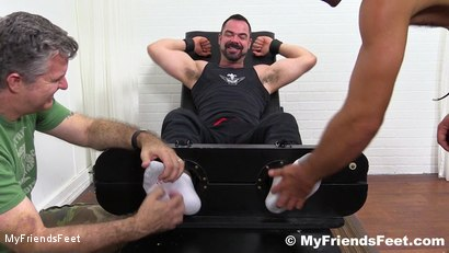 Photo number 2 from Dolan Wolf Jerked & Tickled shot for My Friends Feet on Kink.com. Featuring Dolan Wolf, Cole Money and Rich in hardcore BDSM & Fetish porn.