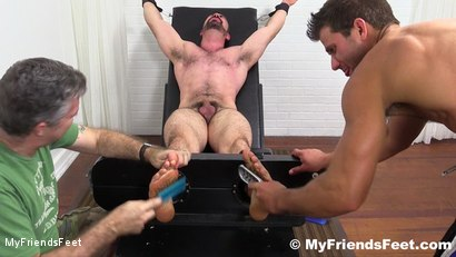 Photo number 14 from Dolan Wolf Jerked & Tickled shot for My Friends Feet on Kink.com. Featuring Dolan Wolf, Cole Money and Rich in hardcore BDSM & Fetish porn.