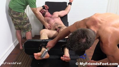 Photo number 15 from Dolan Wolf Jerked & Tickled shot for My Friends Feet on Kink.com. Featuring Dolan Wolf, Cole Money and Rich in hardcore BDSM & Fetish porn.