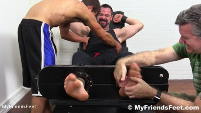 Photo number 3 from Dolan Wolf Jerked & Tickled shot for My Friends Feet on Kink.com. Featuring Dolan Wolf, Cole Money and Rich in hardcore BDSM & Fetish porn.