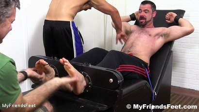 Photo number 9 from Dolan Wolf Jerked & Tickled shot for My Friends Feet on Kink.com. Featuring Dolan Wolf, Cole Money and Rich in hardcore BDSM & Fetish porn.