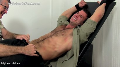 Photo number 4 from Cole Money Bound & Tickled shot for My Friends Feet on Kink.com. Featuring Cole Money and Rich in hardcore BDSM & Fetish porn.