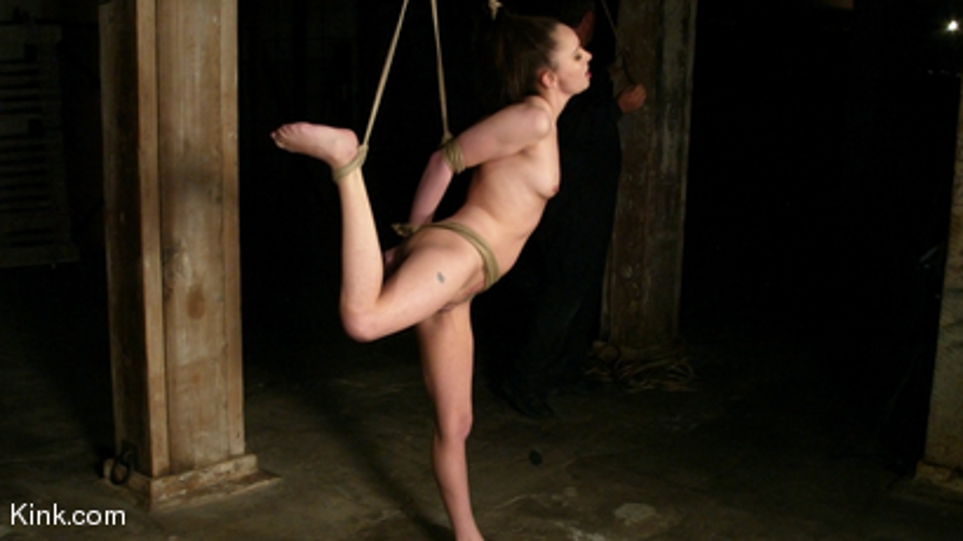 Photo number 2 from Maya Matthews is Made to Cum in Tight Bondage shot for Hogtied on Kink.com. Featuring Maya Matthews in hardcore BDSM & Fetish porn.