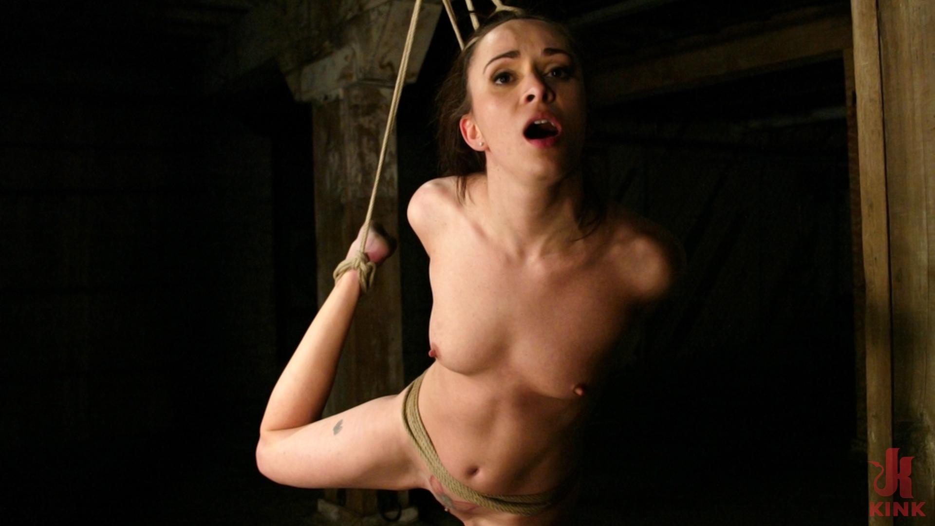 Photo number 3 from Maya Matthews is Made to Cum in Tight Bondage shot for Hogtied on Kink.com. Featuring Maya Matthews in hardcore BDSM & Fetish porn.