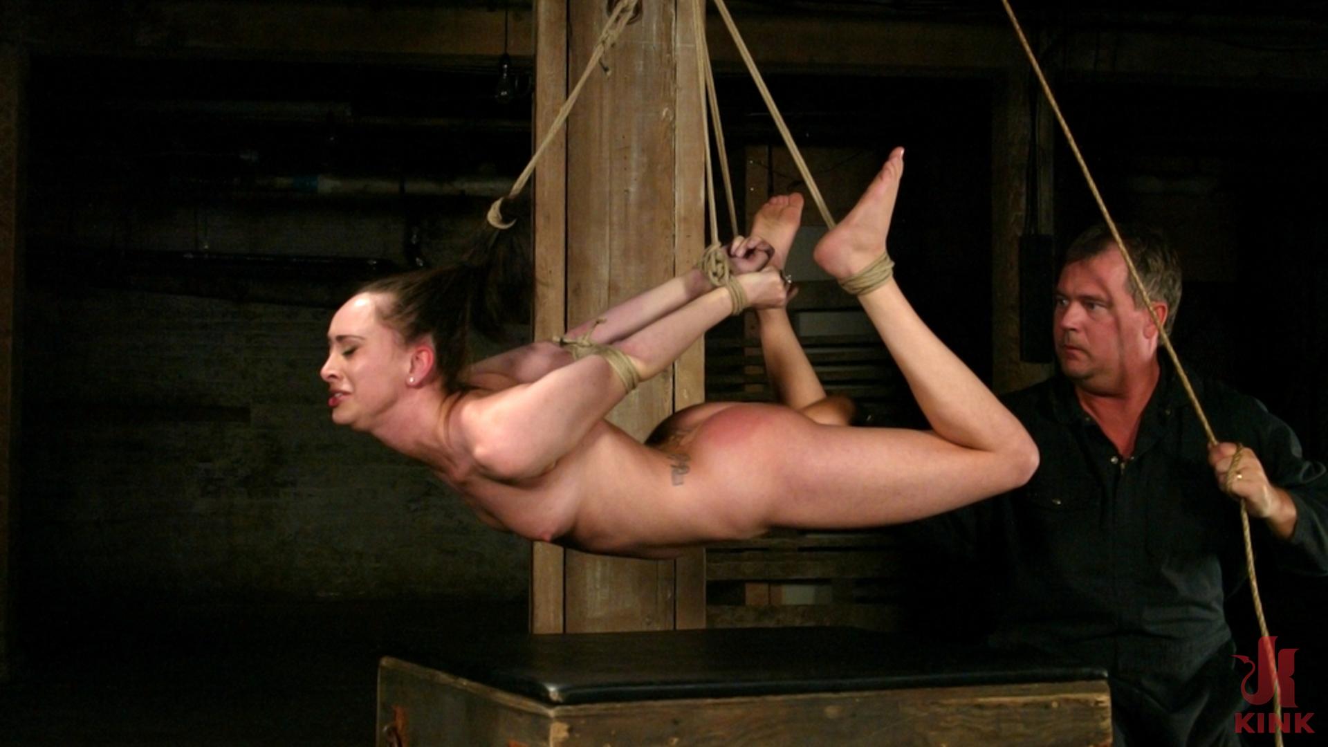 Photo number 5 from Maya Matthews is Made to Cum in Tight Bondage shot for Hogtied on Kink.com. Featuring Maya Matthews in hardcore BDSM & Fetish porn.