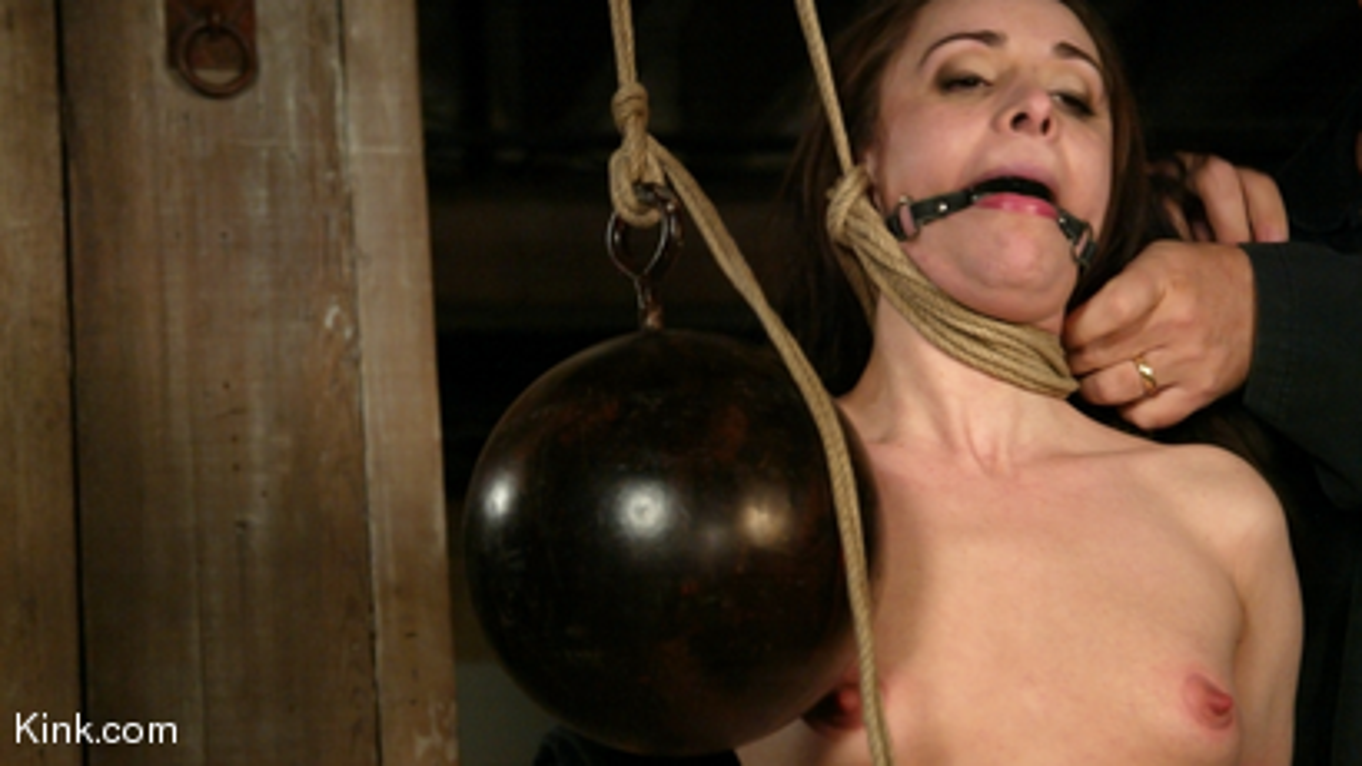 Photo number 6 from Maya Matthews is Made to Cum in Tight Bondage shot for Hogtied on Kink.com. Featuring Maya Matthews in hardcore BDSM & Fetish porn.