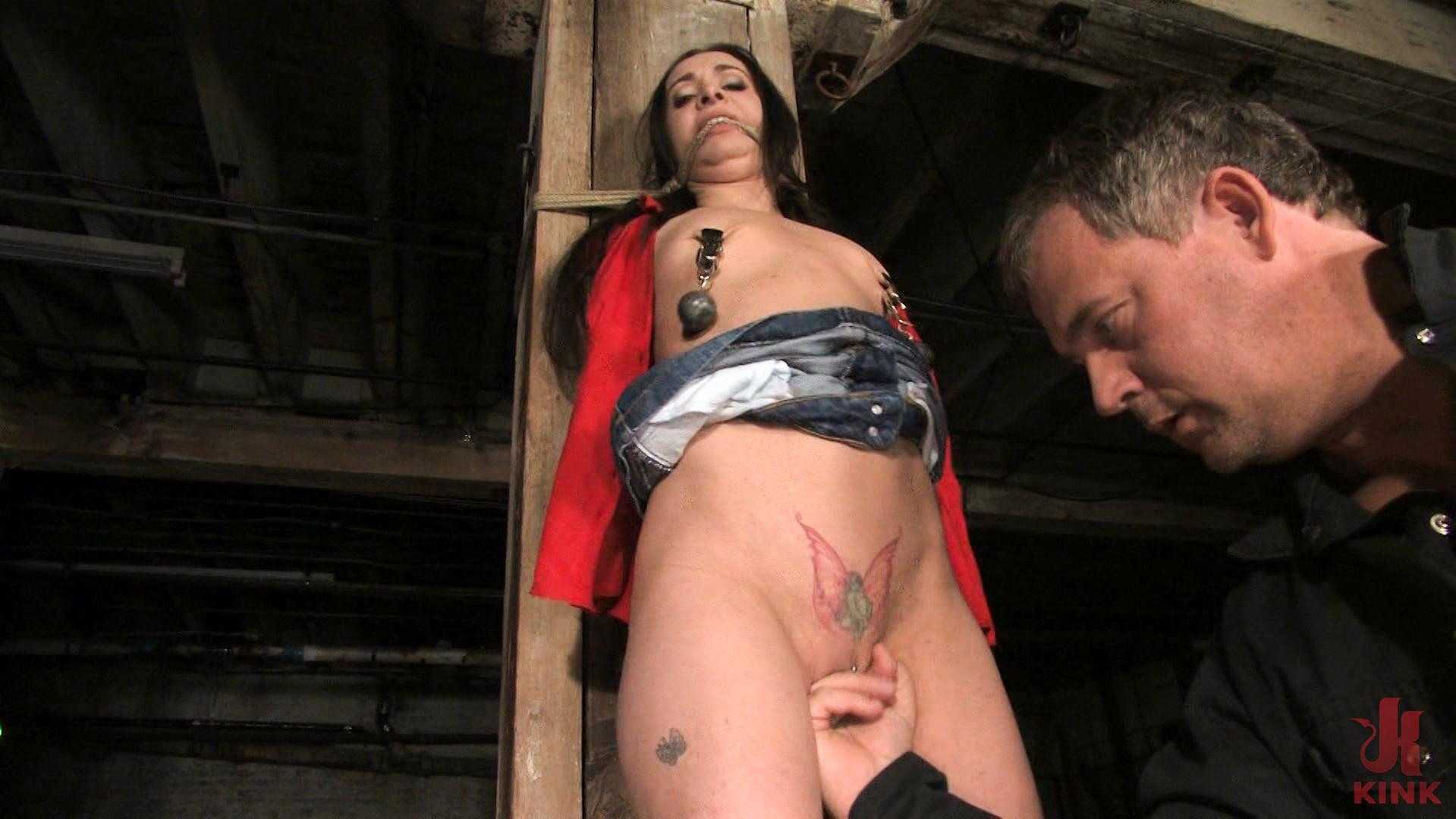 Photo number 7 from Maya Matthews is Made to Cum in Tight Bondage shot for Hogtied on Kink.com. Featuring Maya Matthews in hardcore BDSM & Fetish porn.