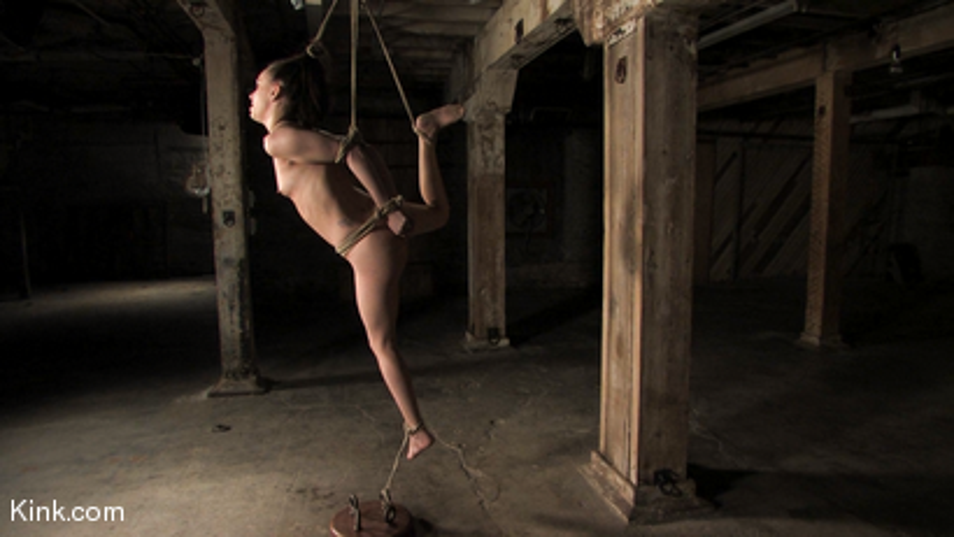 Photo number 14 from Maya Matthews is Made to Cum in Tight Bondage shot for Hogtied on Kink.com. Featuring Maya Matthews in hardcore BDSM & Fetish porn.