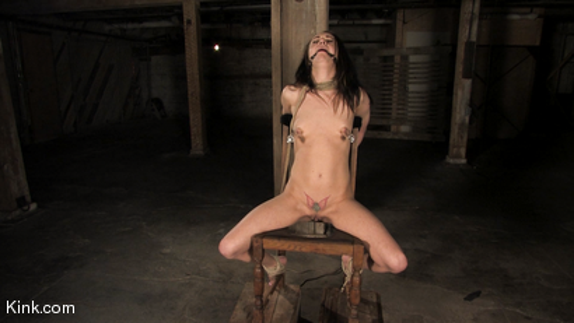 Photo number 16 from Maya Matthews is Made to Cum in Tight Bondage shot for Hogtied on Kink.com. Featuring Maya Matthews in hardcore BDSM & Fetish porn.