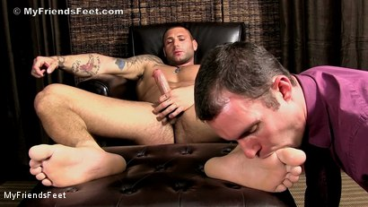 Photo number 16 from Aggressive Foot Top Mike Buffalari Worshiped shot for My Friends Feet on Kink.com. Featuring Cameron Kincade and Mike Buffalari in hardcore BDSM & Fetish porn.