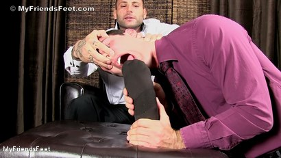 Photo number 4 from Aggressive Foot Top Mike Buffalari Worshiped shot for My Friends Feet on Kink.com. Featuring Cameron Kincade and Mike Buffalari in hardcore BDSM & Fetish porn.