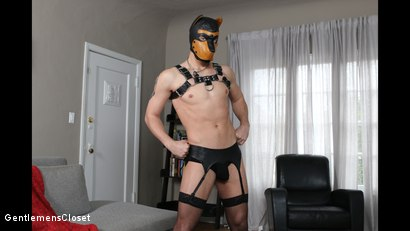 "Photo number 2 from Kinky Hitchhiker ""Puppy Trained"": Tyler Rush, Trenton Ducati shot for Gentlemens Closet on Kink.com. Featuring Tyler Rush and Trenton Ducati in hardcore BDSM & Fetish porn."