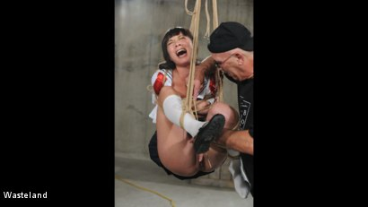 Photo number 11 from Swinging High shot for Wasteland on Kink.com. Featuring Nyssa Nevers and David Lawrence in hardcore BDSM & Fetish porn.