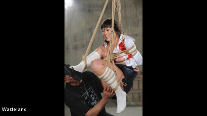 Photo number 16 from Swinging High shot for Wasteland on Kink.com. Featuring Nyssa Nevers and David Lawrence in hardcore BDSM & Fetish porn.