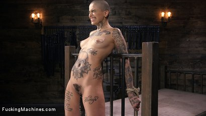 Photo number 14 from Tattooed Slut Machine Fucked in Tight Bondage shot for Fucking Machines on Kink.com. Featuring Leigh Raven in hardcore BDSM & Fetish porn.