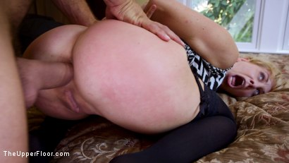 Photo number 6 from 19 year Old Slut Teaches Anal Fiance How to Serve Daddy shot for The Upper Floor on Kink.com. Featuring Ramon Nomar, Cherie Deville and Gina Valentina in hardcore BDSM & Fetish porn.