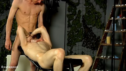 Photo number 14 from Willing Slave Kamyk Gets It shot for Boynapped on Kink.com. Featuring Kamyk Walter and Sean McKenzie in hardcore BDSM & Fetish porn.