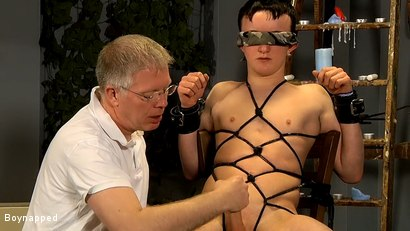 Photo number 12 from Roped Up And Wanked Off shot for Boynapped on Kink.com. Featuring Brett Wright and Sebastian Kane in hardcore BDSM & Fetish porn.