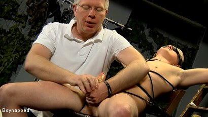 Photo number 13 from Roped Up And Wanked Off shot for Boynapped on Kink.com. Featuring Brett Wright and Sebastian Kane in hardcore BDSM & Fetish porn.