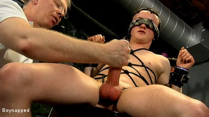 Photo number 16 from Roped Up And Wanked Off shot for Boynapped on Kink.com. Featuring Brett Wright and Sebastian Kane in hardcore BDSM & Fetish porn.
