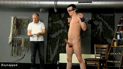 Photo number 10 from Roped Up And Wanked Off shot for Boynapped on Kink.com. Featuring Brett Wright and Sebastian Kane in hardcore BDSM & Fetish porn.