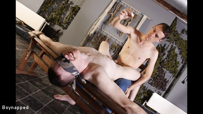 Photo number 6 from Wanked And Waxed To The Limit shot for Boynapped on Kink.com. Featuring Matt Madison and Sean McKenzie in hardcore BDSM & Fetish porn.