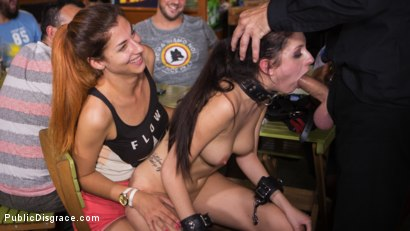 Photo number 12 from 19 Year Old Rebecca Volpetti Humiliated with Public Sex and Punishment shot for Public Disgrace on Kink.com. Featuring Steve Holmes, Cherry Kiss and Rebecca Volpetti in hardcore BDSM & Fetish porn.