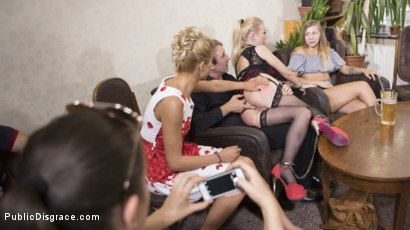 Photo number 16 from Humiliated Whore Isabella Clark Disgraced and Anally Fucked in Public  shot for Public Disgrace on Kink.com. Featuring Steve Holmes, Cherry Kiss and Isabella Clark in hardcore BDSM & Fetish porn.